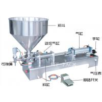 Easy Control Stainless Paste Liquid Filler Equipment Manual Filling Machine Manufactures