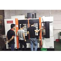 Buy cheap Rib Structure Reinforced CNC Vertical Machining Center Pyramid Design 11kw from wholesalers