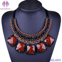 Buy cheap Women Collar Chokers Resin Bead bib Statement Necklace from wholesalers
