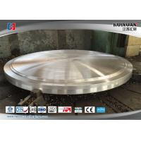 Buy cheap Steel Forging Heat Exchanger Tube Sheet 16MnD / 20MnMo High Precision from wholesalers