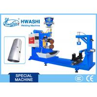 Buy cheap HWASHI Stainless Steel Circular Resistance Seam Welding Machine for Oil Tank product
