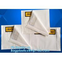Buy cheap Clear Adhesive Back, Packing List / Shipping Label Envelope Pouches, seal envelope courier bag express custom mailing ba from wholesalers
