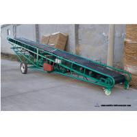 Buy cheap Portable Cleated Telescopic Belt Conveyor Moveable Motorized 1m-10m Length from wholesalers