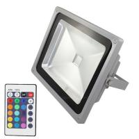 Buy cheap Energy efficient  10W 20W remote control rgb led light bulb - Flood Light , 75 CRI from wholesalers