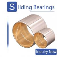 Buy cheap SAE 48 CuPb30 Shaft & Con rod bushings JF800 Track Roller Bimetal Bearing For Handling Equipment from wholesalers