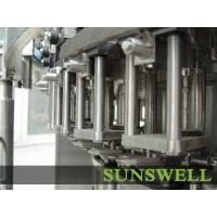 PET Bottle Soft Drink Carbonated Filling Machine , Rotary Washing Filling Capping Manufactures