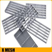 Buy cheap steel grating,steel frame lattice,steel grating plate floor serrated steel grating for water drainage from wholesalers