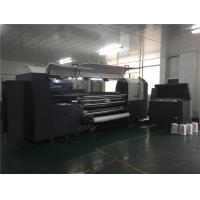 China Industrial Digital Cotton Printing Machine Belt Transmission 3.2m Kyocera Head on sale