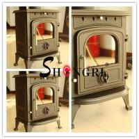 Wholesale forest paint Cast Iron Wood-Burning Stove from china suppliers
