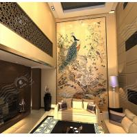 Buy cheap Art Decorative Painting, Traditional Chinese Painting, Wood TV Wall Art Decorative Painting from wholesalers