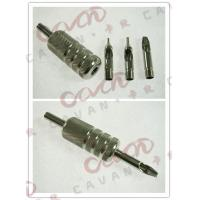 Buy cheap Screwed Disposable Tattoo Grips , Tattoo Machine Grips With Back Stem from wholesalers