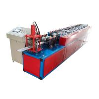 Buy cheap Plc Control Roller Shutter Door Roll Forming Machine For Purlin Production from wholesalers