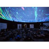 Buy cheap Custom Large Inflatable Tents / Portable Planetarium Dome for Digital Projection from wholesalers