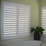 Buy cheap Bifolding Sliding Interior PVC Plantation Shutters For Bathroom Window Door from wholesalers