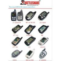 Buy cheap Famous Brand New Type With Nice Design Car Alarm Remotes With Led / Lcd from wholesalers