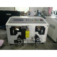 Buy cheap Industrial stranded wire cutting and stripping machine, auto wire cutter and stripper from wholesalers