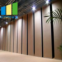 Buy cheap MDF Mobile Partition Wall Movable Room Dividers Dubai Partition Wood Office Partition Wall from wholesalers