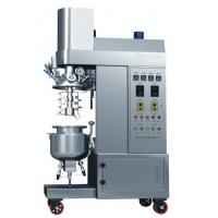 Buy cheap Siemens Touch Screen Controled Vacuum Emulsifying Machine With 200L Capacity from wholesalers