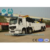 Buy cheap White 8X4 Heavy Duty Rotator Wrecker Tow Truck With Boom Rotation 360° from wholesalers