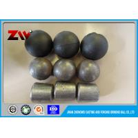 Cement Plant grinding media balls in cast and forged , Surface hardness HRC 58-65