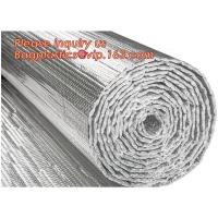 Buy cheap Roof/Floor/Wall Heat Insulation Aluminum Foil Bubble Material / Thermal Insulation,Bubble Aluminum Foil Building Insulat from wholesalers