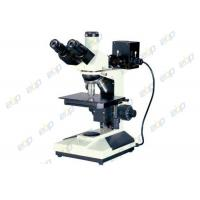 Wholesale Good Operability Metallurgical Microscope , Upright Microscope With Trinocular Head from china suppliers