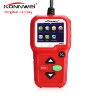 Buy cheap Red Portable Auto Diagnostic Machine KW680 For All 1996 And Later OBDII Compliant US European And Asian Vehicl from wholesalers