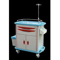 Buy cheap Ambulance Stainless Steel Medical Trolley , Stainless Steel Trolley With Drawers from wholesalers