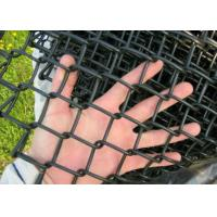 Buy cheap Garden Chain Link Fencing Mesh 2 '' Wire 4 . 0 MM Black  Color 10 ' Height from wholesalers