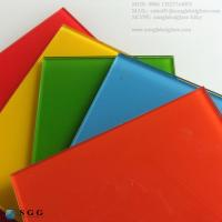 Buy cheap Excellence quality different colored Lacquered Glass from wholesalers