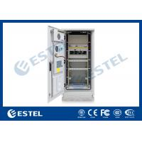 Buy cheap 19 Inch Thermostatic Sandwich Sturcture Outdoor Telecom Cabinet With Rectifier System UPS from wholesalers