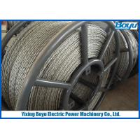 Buy cheap Transmission Line Anti twist Wire Rope, Pilot Wire Rope for Overhead Engineering from wholesalers