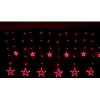 Buy cheap New Christmas Red LED icicle string star light for wedding ceremony decoratin from wholesalers