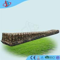 Durable Inflatable Sports Games Camouflage Color Giant Inflatable Zip Line Manufactures
