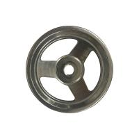 Buy cheap DIN 950 Silica Sol Investment Casting Stainless Steel Hand Wheel Mirror Polished from wholesalers
