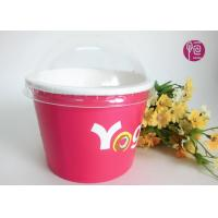 Buy cheap Printing Diposable ice cream paper cups with lids for Frozen Yogurt product