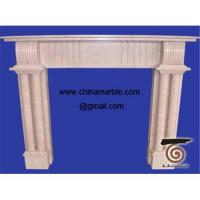 Buy cheap Marble fireplace mantel granite fireplace mantel from wholesalers