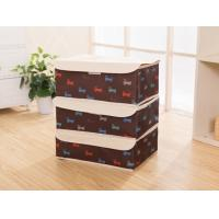 Wholesale Nylon Foldable Storage Boxes Portable Sewing Clothes Bra Set Stockings Brown from china suppliers