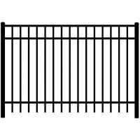 Buy cheap High quality Aluminum Railing Aluminum Fence Panels No rust from wholesalers