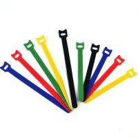 Buy cheap Back To Back Reusable Hook And Loop Cable Ties / Hook Loop One-Wrap Straps from wholesalers