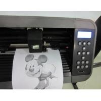 Buy cheap 730mm Paper Width 32-bit CPU Vinyl Cutter Plotter With High Speed Stepping Motor from wholesalers