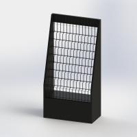 Buy cheap 11 Tiered Literature Floor Stand MDF And Metal Display Rack For Brochures Holder from wholesalers