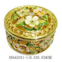 Buy cheap Flower Jewelry Box product