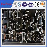 Wholesale 6061/6063 aluminum extrusion,aluminium profile for sliding wardrobe doors,OEM from china suppliers