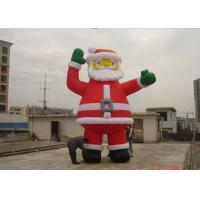 Buy cheap Customzied 6M Inflatable Ssanta Claus , PVC Santa Claus Air Balloon For Advertising from wholesalers