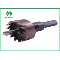 Buy cheap High Hardness HSS Hole Saw , Sharper Blade Universal Hole Saw For Stainless Steel from wholesalers