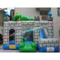 Buy cheap Custom Inflatable Bouncer Slide Commercial Grade With PVC Tarpaulin product