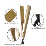Buy cheap Iron Hair Straightener Iron Brush Ceramic 2 In 1 Hair Straightening Curling Irons Hair Curler from wholesalers