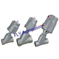 Buy cheap 2000 Threaded Port 2/2 Way Angle Seat Valve Integrated Pneumatic PPS Actuator from wholesalers