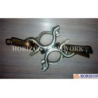 China Self Colour Scaffolding Accessories ,  Double Swivel Coupler Easy Operation on sale
